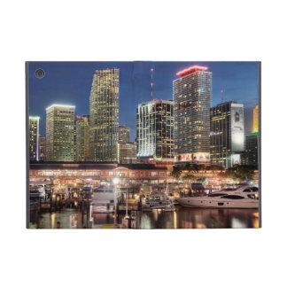 Miami skyline city in Florida Cover For iPad Mini