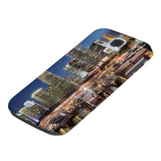 Miami skyline city in Florida Galaxy S4 Case