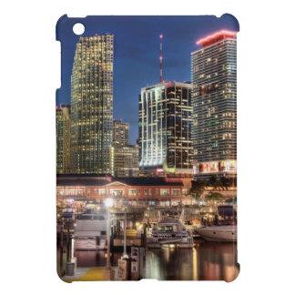 Miami skyline city in Florida iPad Mini Case
