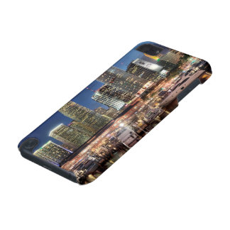 Miami skyline city in Florida iPod Touch (5th Generation) Cases