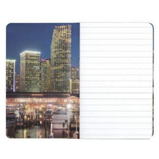 Miami skyline city in Florida Journal