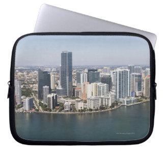 Miami Skyline Laptop Sleeve