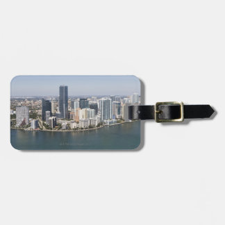 Miami Skyline Luggage Tag