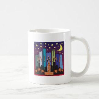Miami Skyline Mega Color Coffee Mug