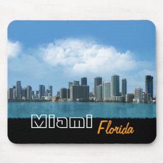 Miami Skyline Mouse Pad