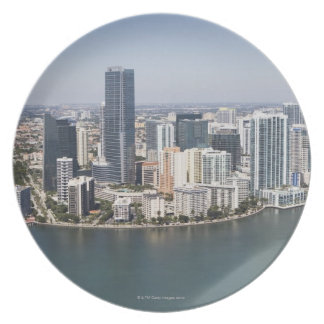 Miami Skyline Plate