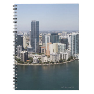 Miami Skyline Spiral Notebook