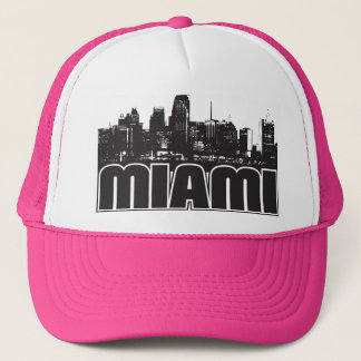 Miami Skyline Trucker Hat