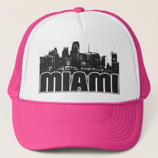 Miami Skyline Trucker Hat