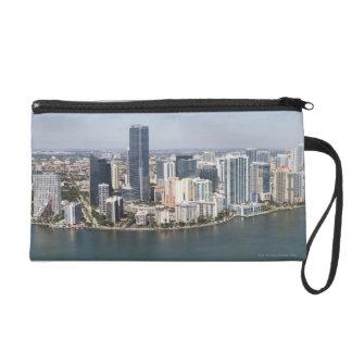 Miami Skyline Wristlet