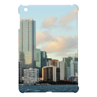 Miami skyscrapers against wide clear sky iPad mini cases