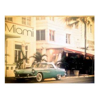 Miami-South beach Post Card