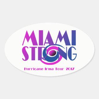 Miami Strong Hurricane Irma Sticker