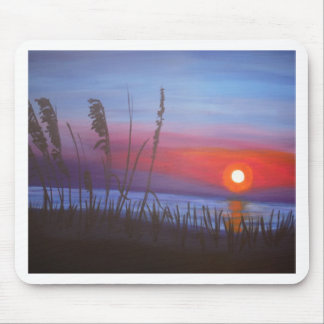 Miami sunset mousepads