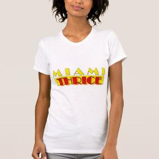 Miami Thrice Ladies Shirt