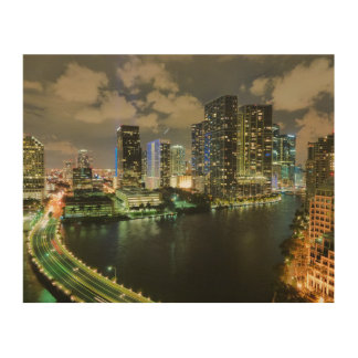 Miami Wood Wall Decor