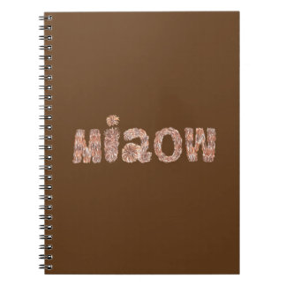 Miaow Spiral Notebook
