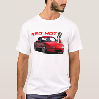 Miata MX-5 Red Hot T-Shirt