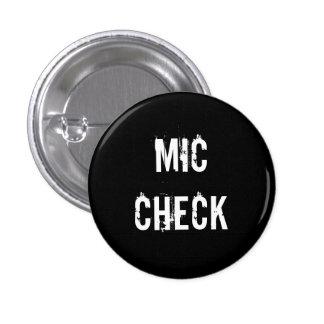 """MIC CHECK"" button"