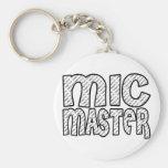 Mic Master Keychains