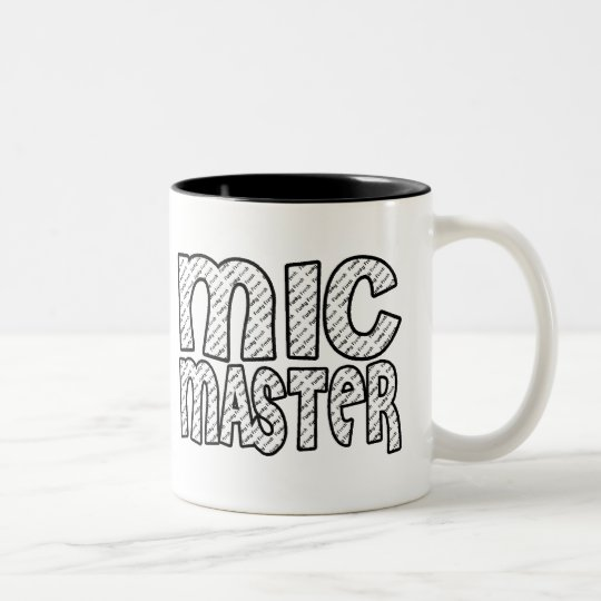 Mic Master Two-Tone Coffee Mug