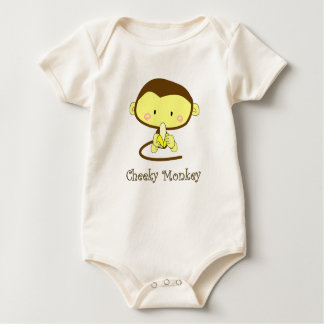 Mica, Cheeky Monkey Baby Bodysuit