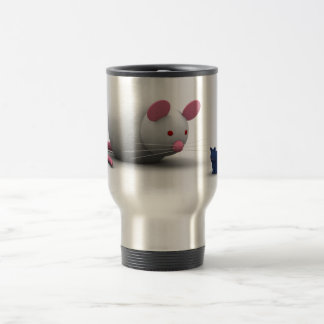 Mice And Cat Game Stainless Steel Travel Mug