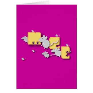 Mice! Card
