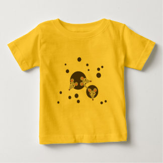 Mice in cheese baby T-Shirt