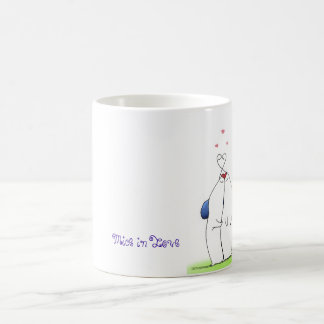 Mice in Love surprise mug