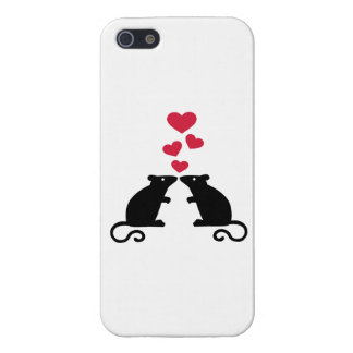 Mice mouse hearts love iPhone 5/5S case