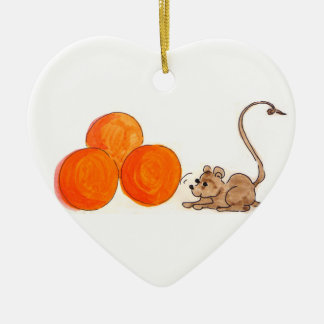 Mice n' Oranges Ornament