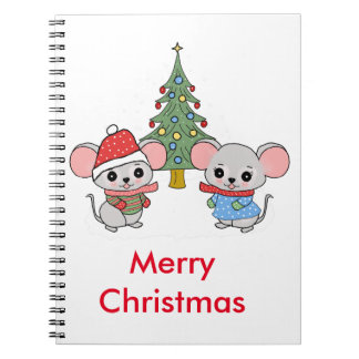 mice of Christmas Notebooks