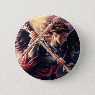 Michael 6 Cm Round Badge