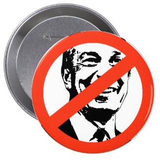 Michael Bloomberg 10 Cm Round Badge