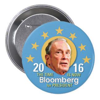 Michael Bloomberg for President 2016 7.5 Cm Round Badge