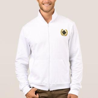 Michael DeVinci Men's American  Fleece Zip Jogge Jacket