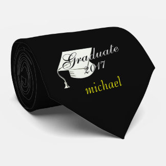 """Michael"" Graduation 2017 Black Tie"