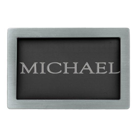 Michael Personalised Name Belt Buckle