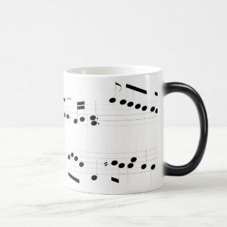 Michael Rose Music Score Morphing Mug