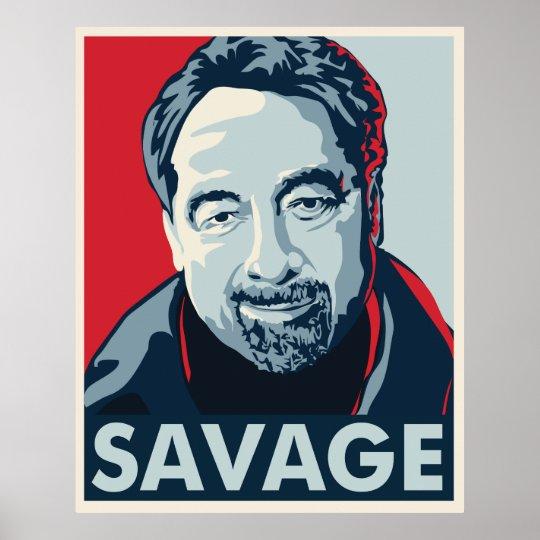 Michael Savage Poster