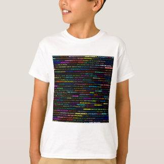 Michael Text Design I Light Shirt Kids