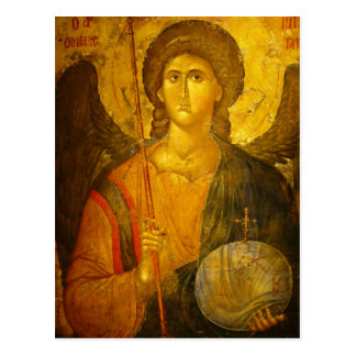 Michael the Archangel Postcard