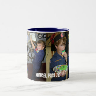 Michael Two-Tone Coffee Mug