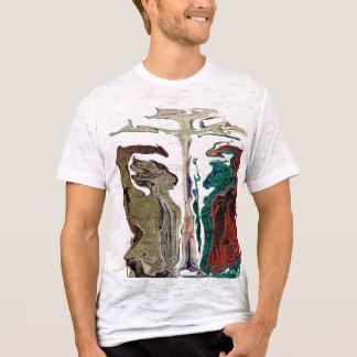 """""""Michael vs Satan"""" by Michael Crozz T-Shirt"""