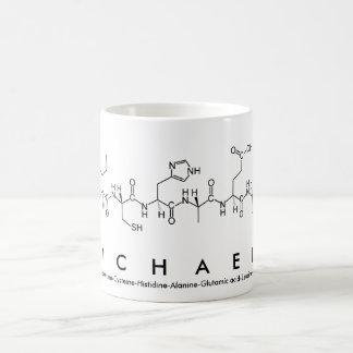 Michaele peptide name mug