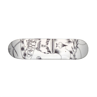 Michaels Drawing 21.6 Cm Skateboard Deck