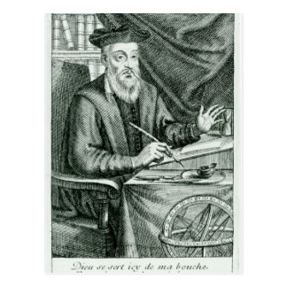 Michel de Nostredame Postcard