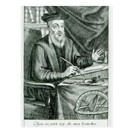 Michel de Nostredame Post Card