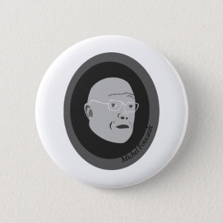 michel-foucault 6 cm round badge
